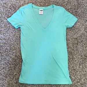 Victoria's Secret Pink T-Shirt V Neck small